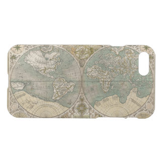 Antique World Map iPhone 8/7 Case