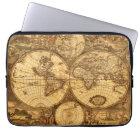 Antique World Map Laptop Sleeve