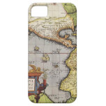 Antique World Map of the Americas, 1570 iPhone 5 Case