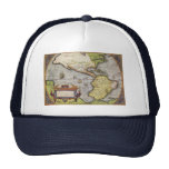 Antique World Map of the Americas, 1570 Trucker Hat