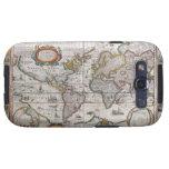 Antique World Map Samsung case Samsung Galaxy S3 Case