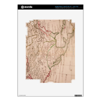 Antique World Map Skins For iPad 3