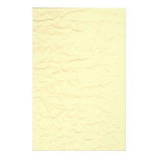Antique Wrinkled Paper Stationery