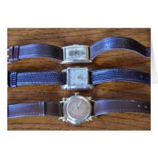 Antique Wrist Watches Card