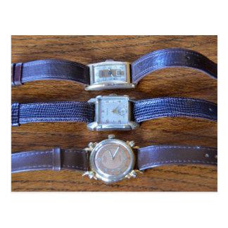 Antique Wrist Watches Postcard