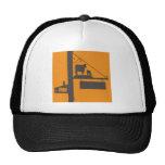 Antique yard design trucker hat