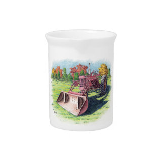 Antique Yard Tractor Pitchers