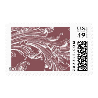Antiqued A by Ceci New York Postage Stamp