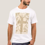 Antiqued Celtic Serpent Cross shirt