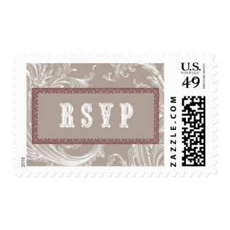 Antiqued D by Ceci New York Postage Stamps