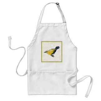 Antiqued Oriole Bird Adult Apron