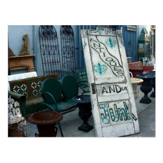 Antiques and Junk, New Orleans Postcard