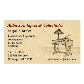 Antiques Auctions Estate Sales Business Card