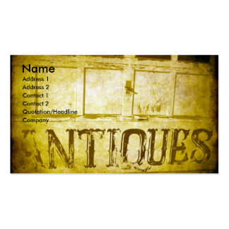 Antiques Double-Sided Standard Business Cards (Pack Of 100)