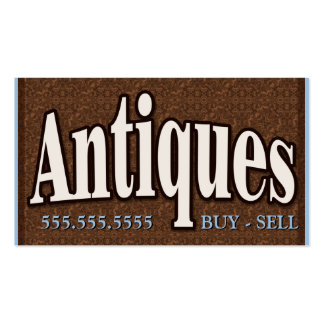 Antiques.Buy.Sell.Collectibles.Customizable Business Card