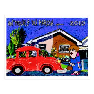 Antiques Du Parish 2010 Postcard