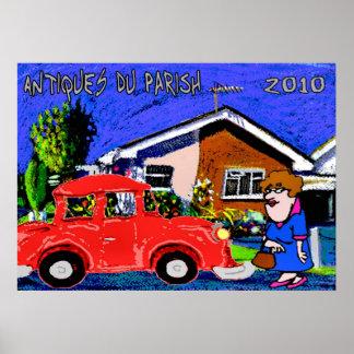 Antiques Du Parish 2010 Print