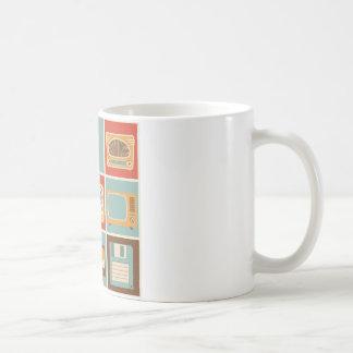 antiques classic white coffee mug