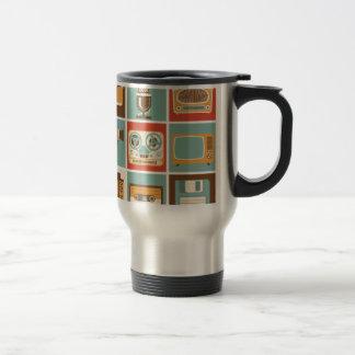 antiques 15 oz stainless steel travel mug