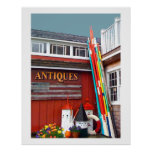 Antiques Oars Poster