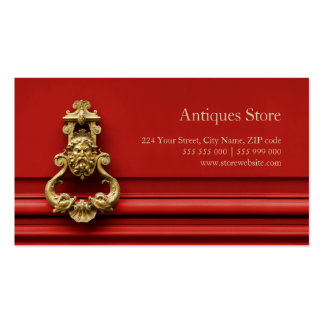 Antiques Store business card