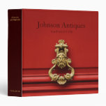 Antiques Store Catalogue Binder