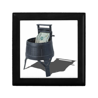 AntiqueWashingMachineMoney011815.png Keepsake Box