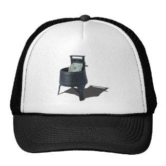 AntiqueWashingMachineMoney011815.png Trucker Hat