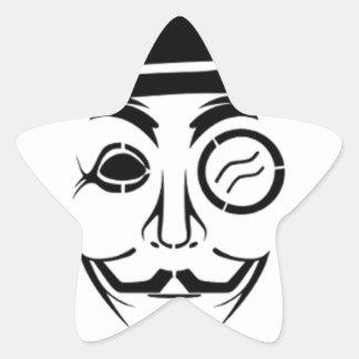 antisec star sticker