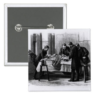 Antiseptic Surgery, 1882 2 Inch Square Button