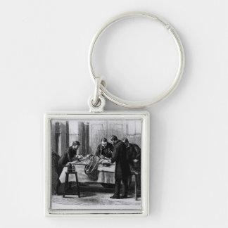 Antiseptic Surgery, 1882 Keychain