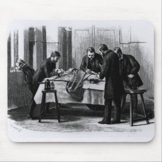 Antiseptic Surgery, 1882 Mouse Pad