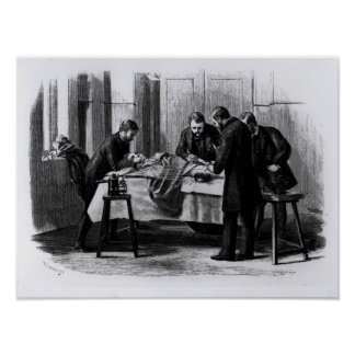 Antiseptic Surgery, 1882 Poster