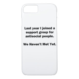 Antisocial Group iPhone 7 Case