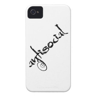antisocial iPhone 4 case