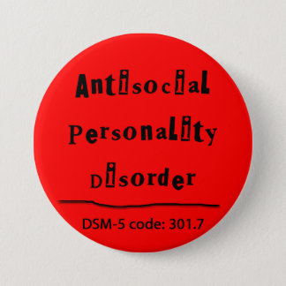 Antisocial Personality Disorder DSM-5 button