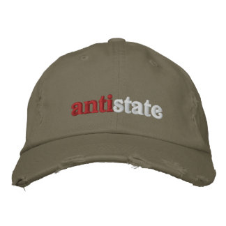 Antistate Embroidered Baseball Caps