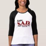 antivalentine S.A.D. Camisetas