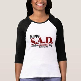 antivalentine S A D Camisetas