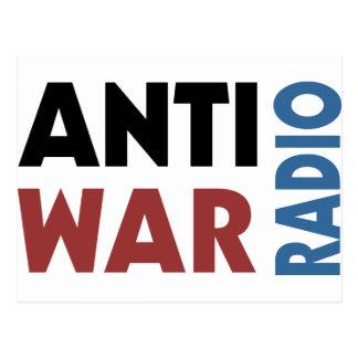 Antiwar Radio Postcard