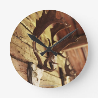 Antler Collection Round Wall Clocks
