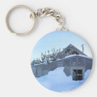 Antler House Keychain