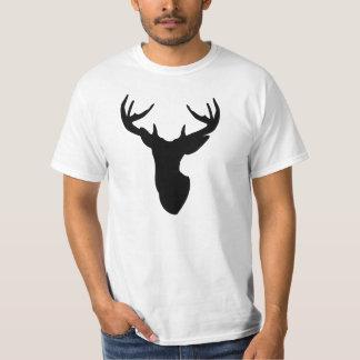 Antler Stag TShirt Deer Head Tee
