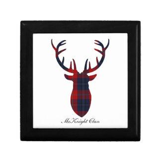 """Antlers""  McKnight Clan Tartan Gift Box"