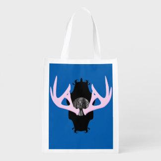 Antlers Reusable Bag Reusable Grocery Bag