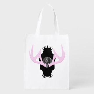Antlers Reusable Bag Reusable Grocery Bags