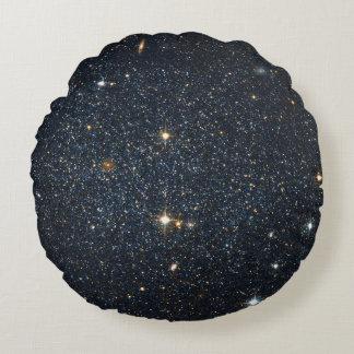 Antlia Dwarf galaxy Round Pillow