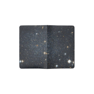 Antlia Dwarf galaxy Pocket Moleskine Notebook