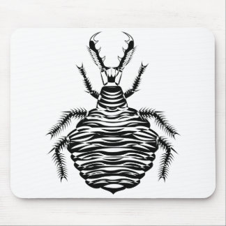 Antlion negro mouse pads