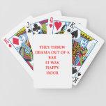 anto obama joke bicycle playing cards